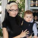 Бебе: Мама Стефи и бебе Божи :)