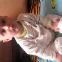 Бебе: седя си аз....